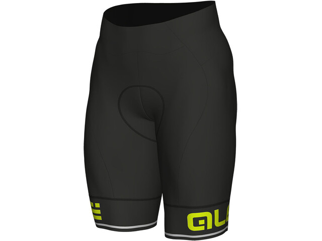 Alé Cycling Corsa Shorts Herren black-fluo yellow